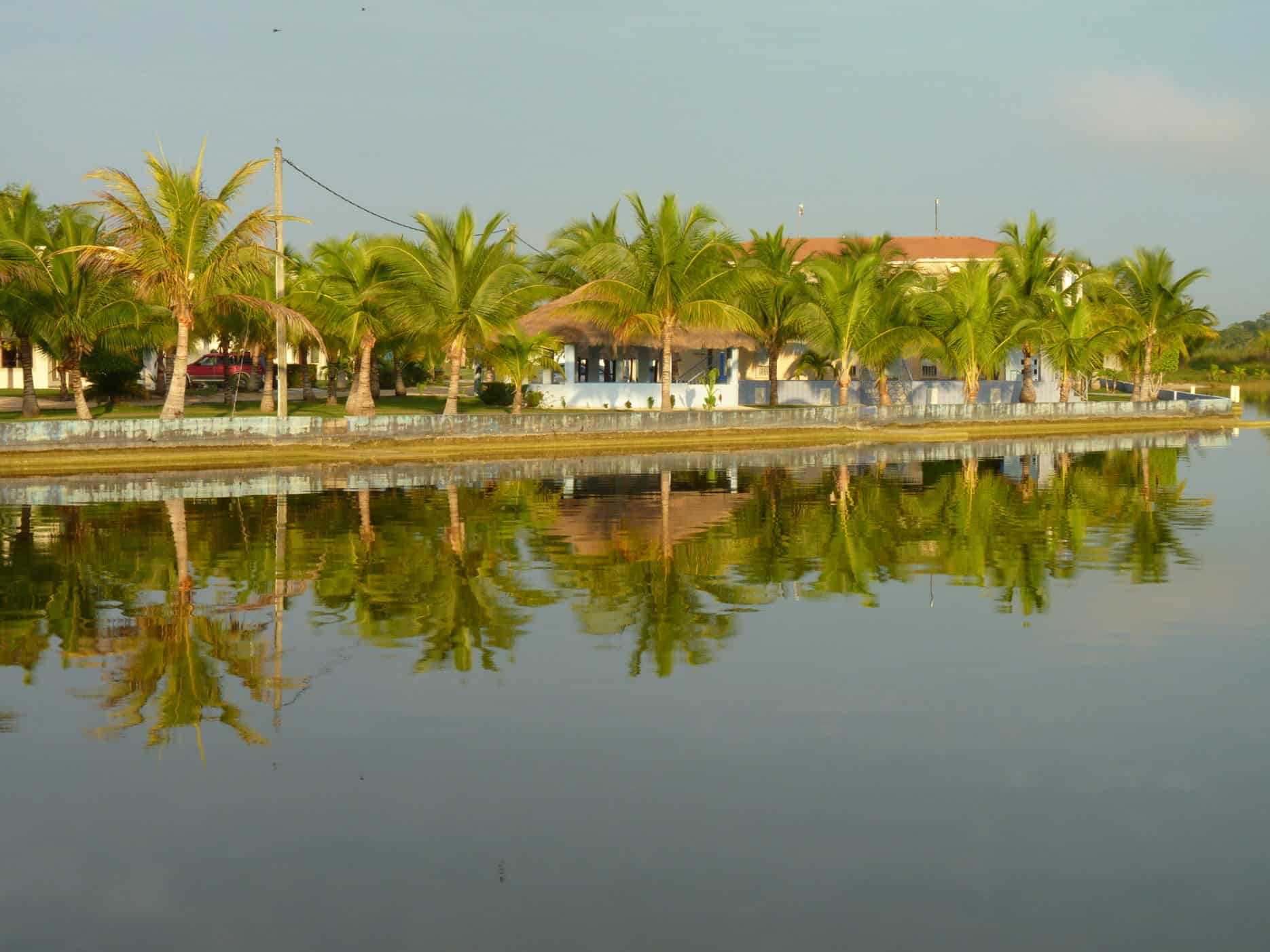 Spending lazy days in Corozal, Belize