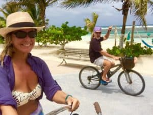 Rent in Mahahual on the Caribbean Sea: $15 per day
