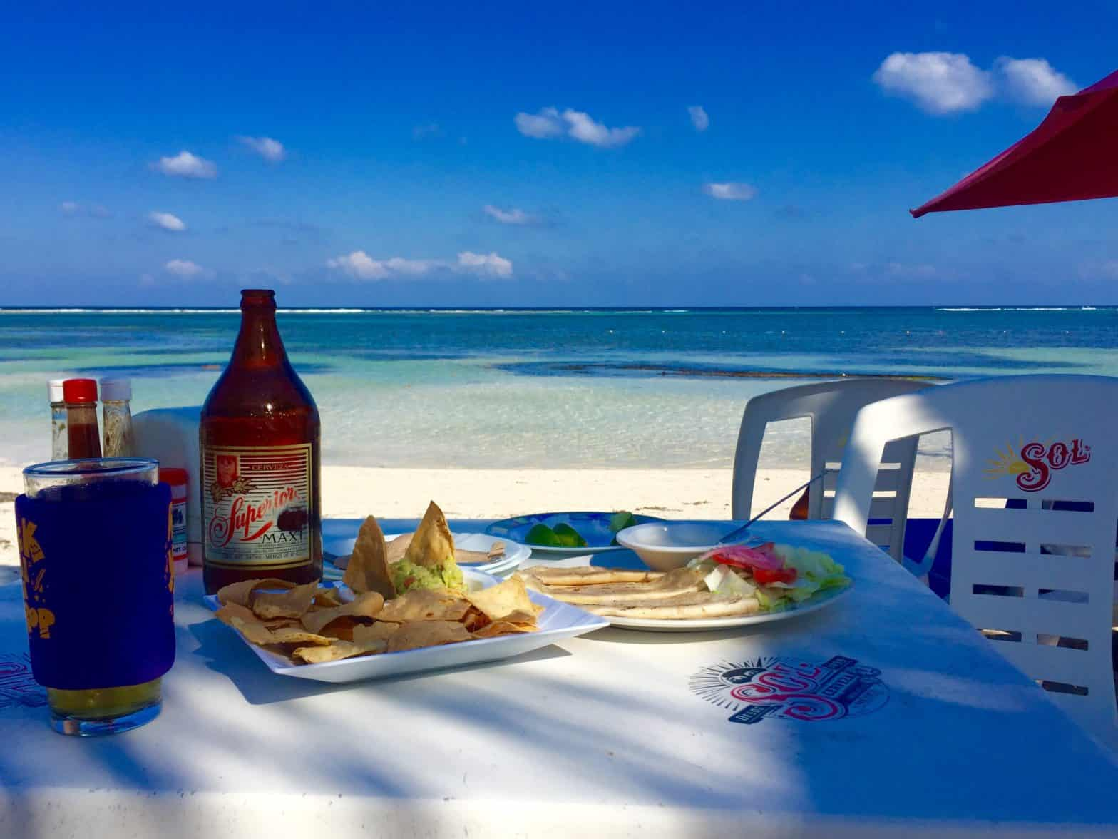 Best value meals under $6 in Mahahual, Mexico 1