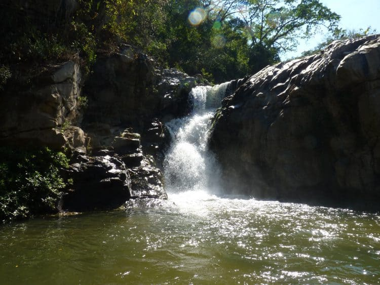Exactly how to get to cool upriver waterfall in Yelapa 2