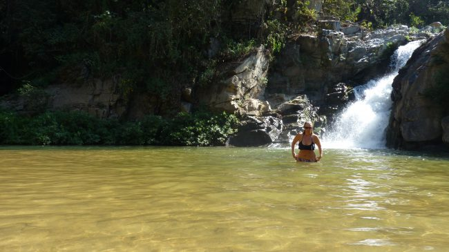 Me at Yelapa waterfall