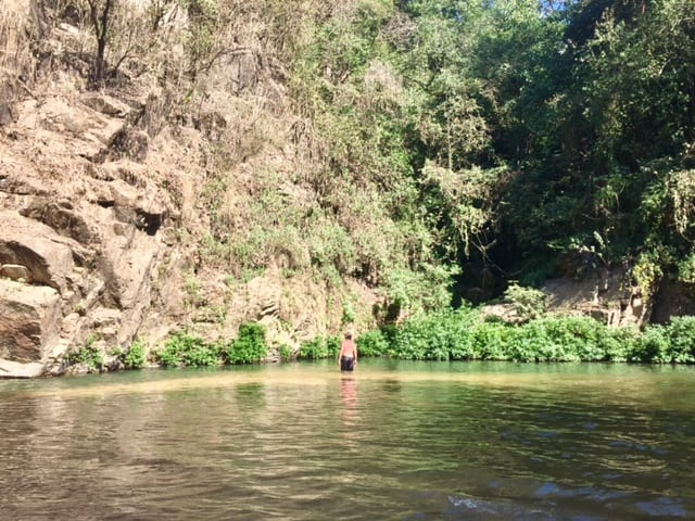 Exactly how to get to cool upriver waterfall in Yelapa 4