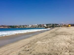 Active early retirement: A surf lesson at Playa Carrizalillo 1