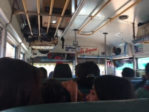 Chicken buses, a boat, and tuk tuks to Lake Atitlan from Guatemala City 1