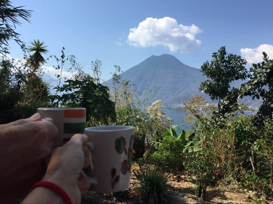 Chicken buses, a boat, and tuk tuks to Lake Atitlan from Guatemala City