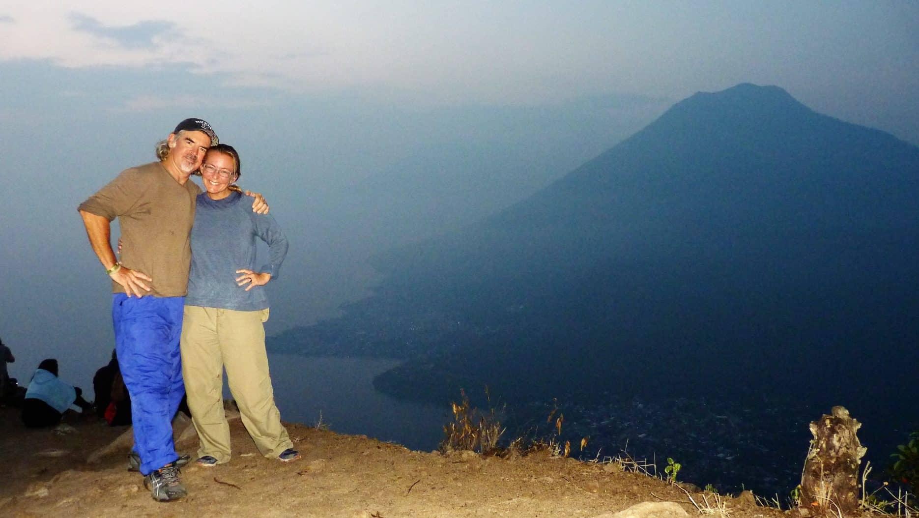 Sunrise trip to Indian Nose at Lake Atitlan 1