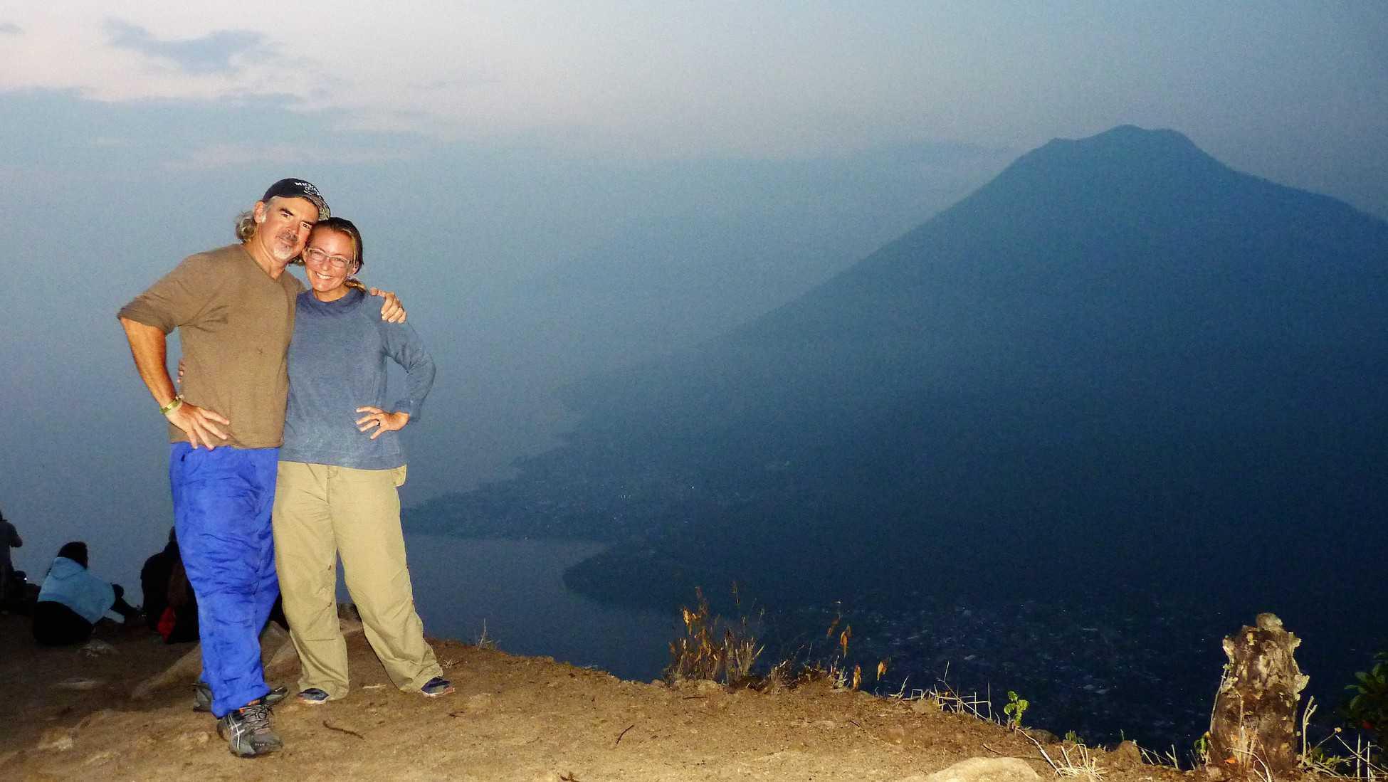 Sunrise trip to Indian Nose at Lake Atitlan