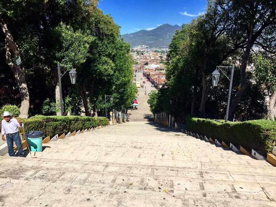 Five points on month-long visits to San Cristobal, Mexico 1