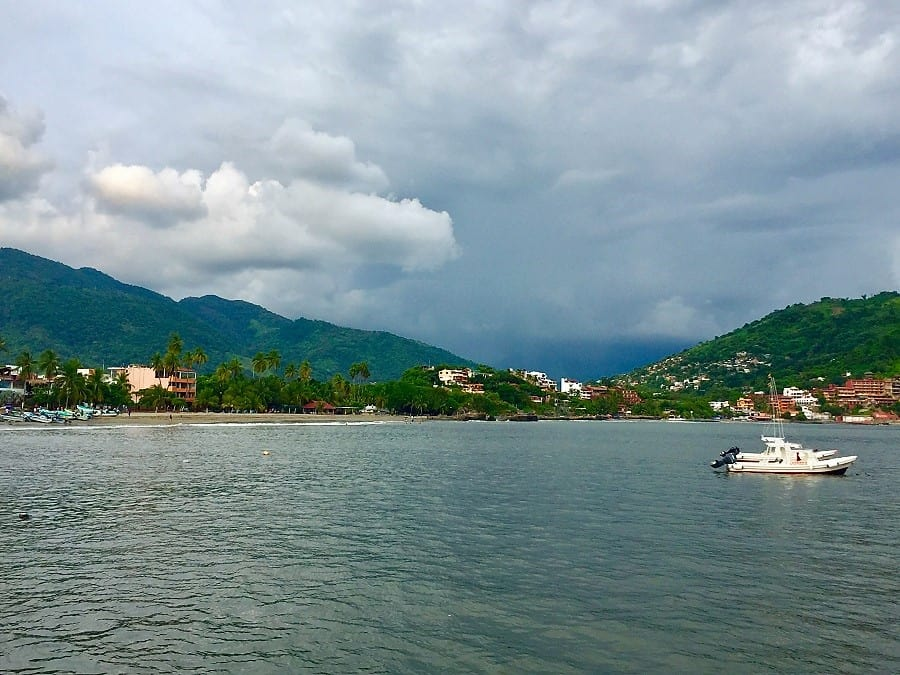 Zihuatanejo: First impressions on the early retired budget travel tour 2