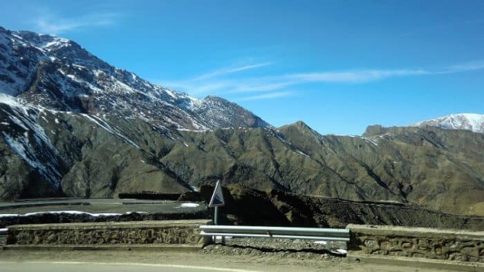 Atlas Mountains road
