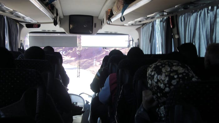 Bus to M'hamid