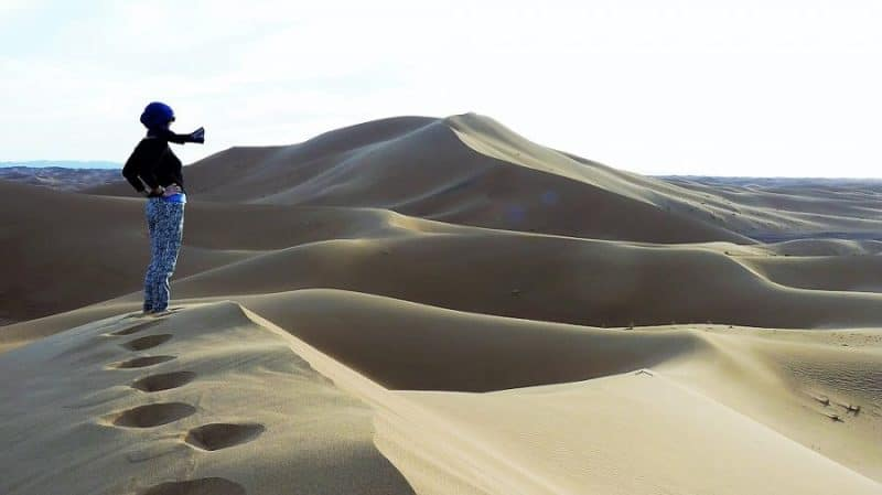 As far as I can get from the office: The Sahara Desert 2
