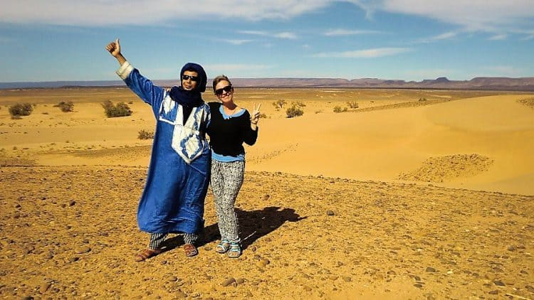 Our Sahara guide Yahya