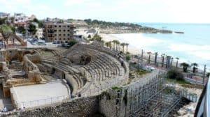 Roman ruins, gorgeous sea views in Tarragona, Spain