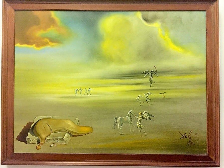 Dali's Angelic Landscape, Vatican Museums
