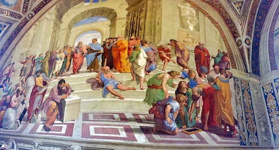 Raphael's School of Athens, Vatican Museums