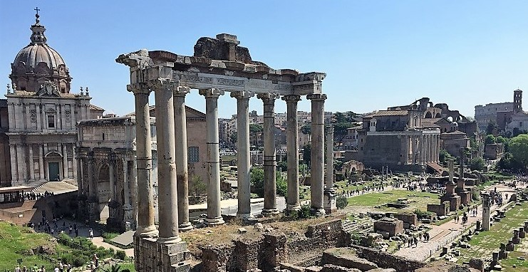 The Forum - budget travel in Rome