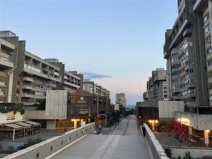 Living in a Soviet-era complex instead of the tourist zone in Split, Croatia