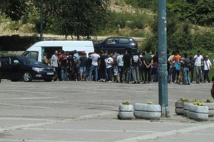 Hopeful migrants take new route to EU through Sarajevo