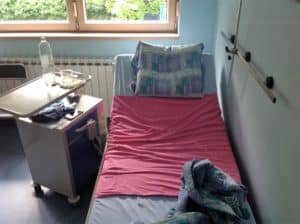 recovery room after bilateral mastectomy in croatia