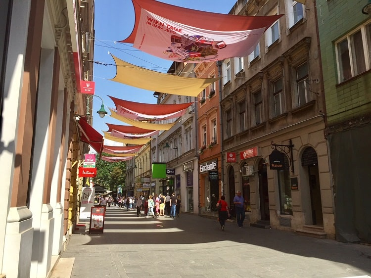 the old town in sarajevo is featured on one of the walking tours through the city