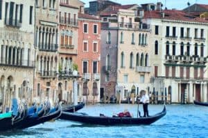 Venice canal, where we lived for a month during shoulder season