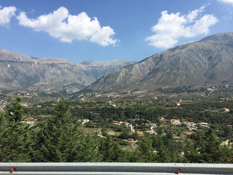 Fun furgon travel in Albania from Tirana to Saranda 3