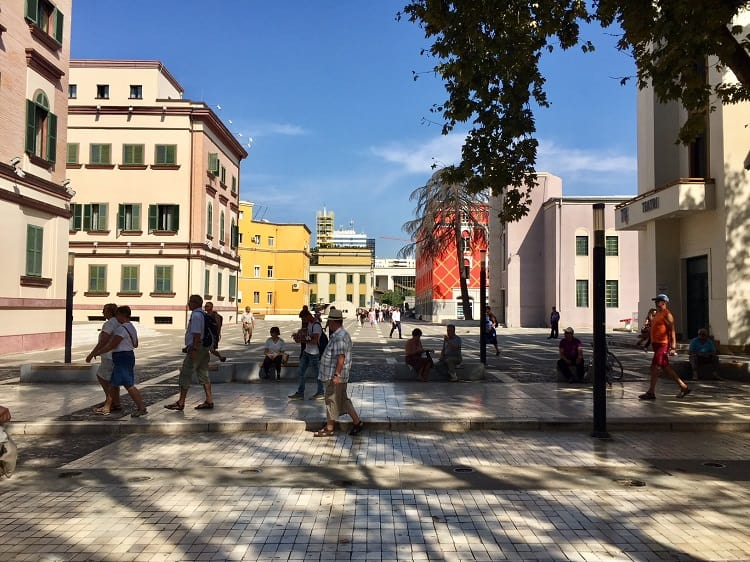 Tirana is delightful nearly 30 years after communism 6
