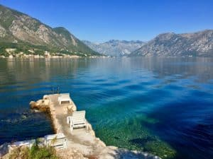 Awesome villages around Kotor Bay in Montenegro