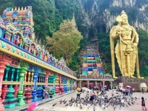 Something special happened at Batu Caves