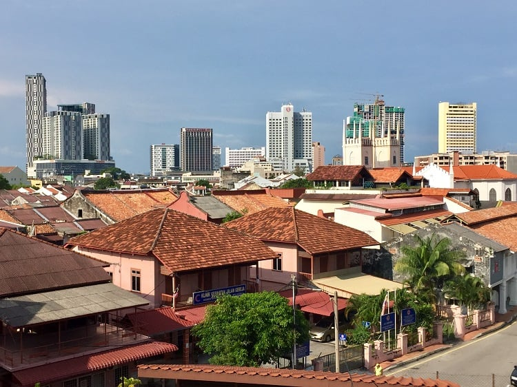 a skyline view from kuala lumpur - where many expats in malaysia rent or buy apartments