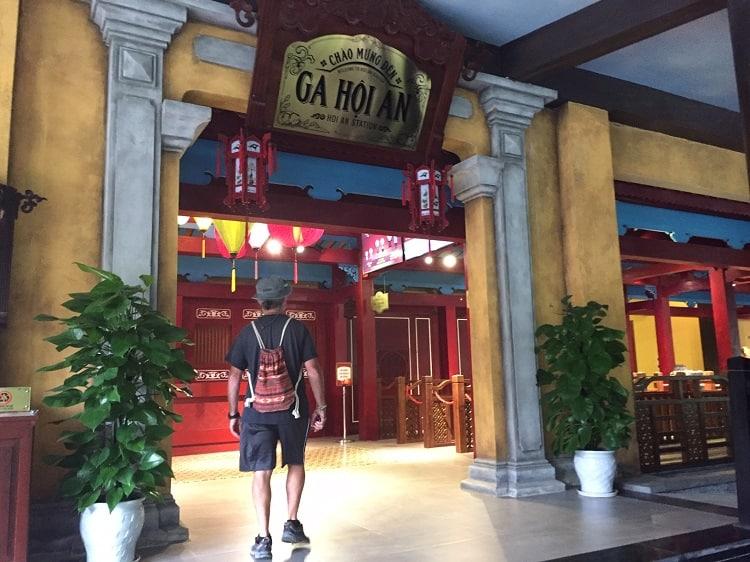 ticket entrance at Ba Na Hills