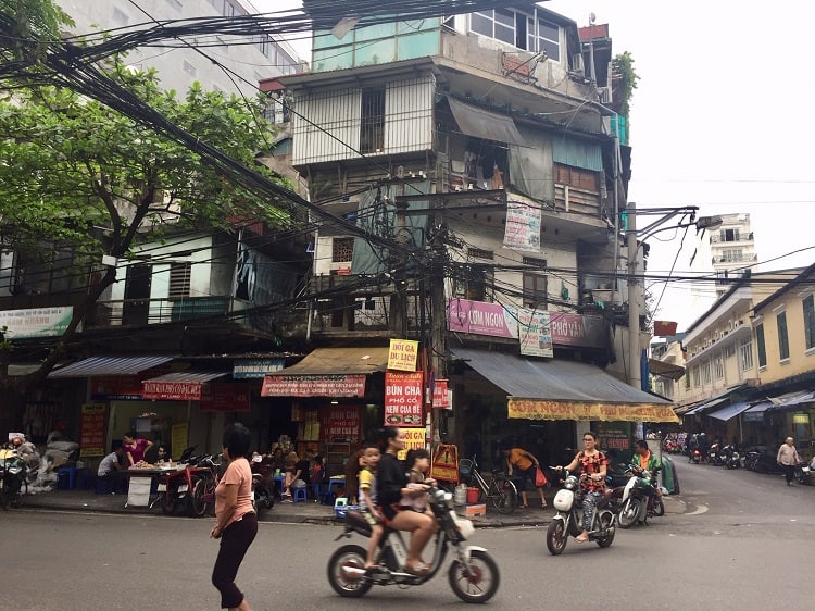 Ancient alley mazes & modern life in Hanoi