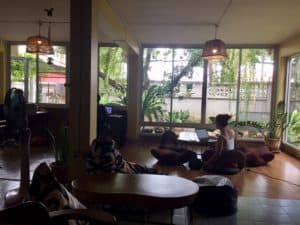 Chiang Mai co-working spot for a retired budget traveler