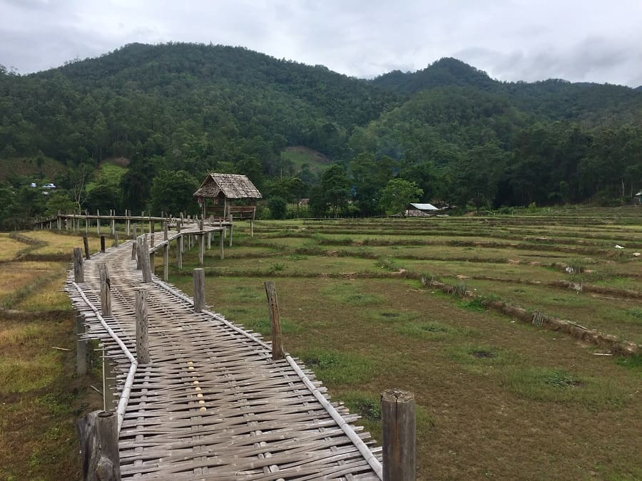 Earth attractions in Pai, Thailand