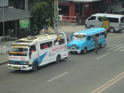 Jeepneys look like extended jeeps, a little.