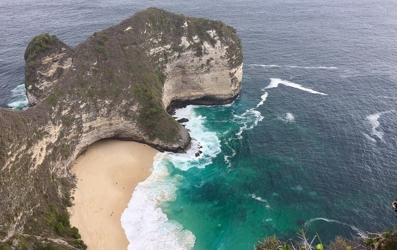 nusa penida is one of the places 2020 Southeast Asia travel