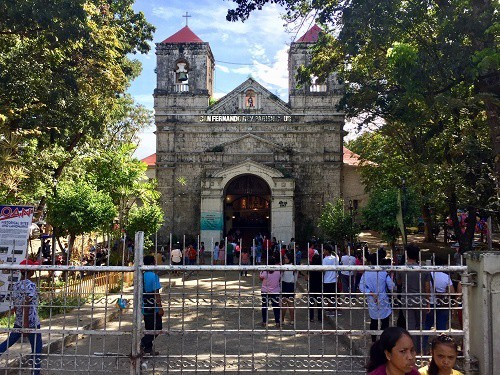 San Fernando El Rey church in Liloan is one of many Catholic churches you will see living in the Philippines.