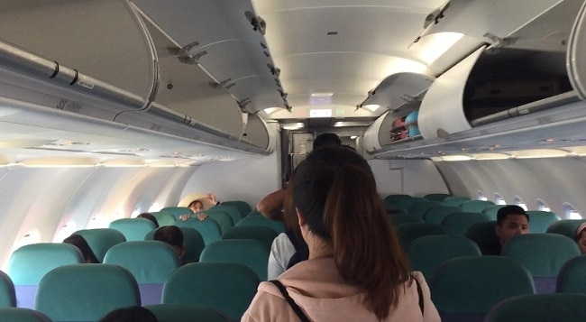 batik air and cebu pacific offer nearly the same amount of interior space and leg room