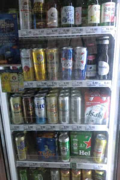 a beer cooler in singapore with prices that are very high