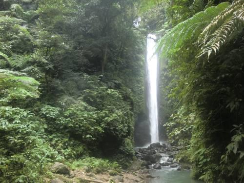 Beautiful Casaroro Falls on Negros Island.