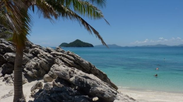 view of the gigantes islands