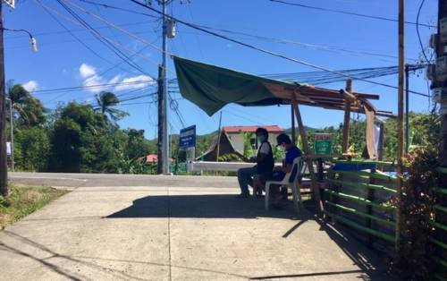 first checkpoint on our first supply run during community quarantine in the philippines