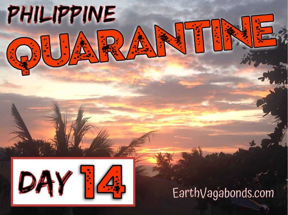 Philippine Quarantine Day 14: Cleared