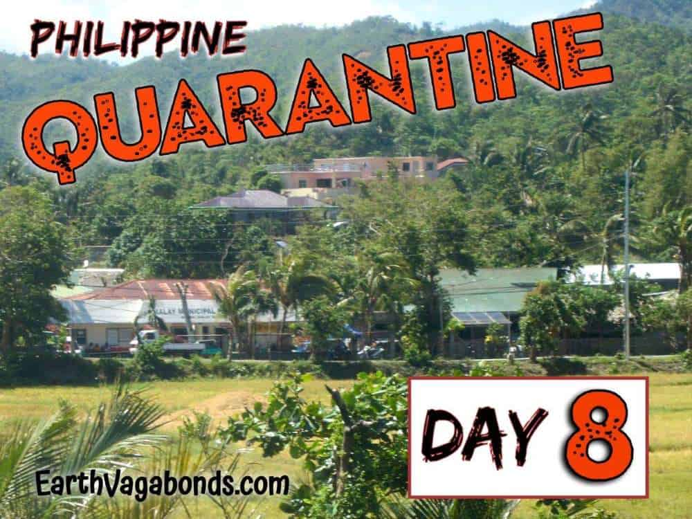 philippine quarantine day 8