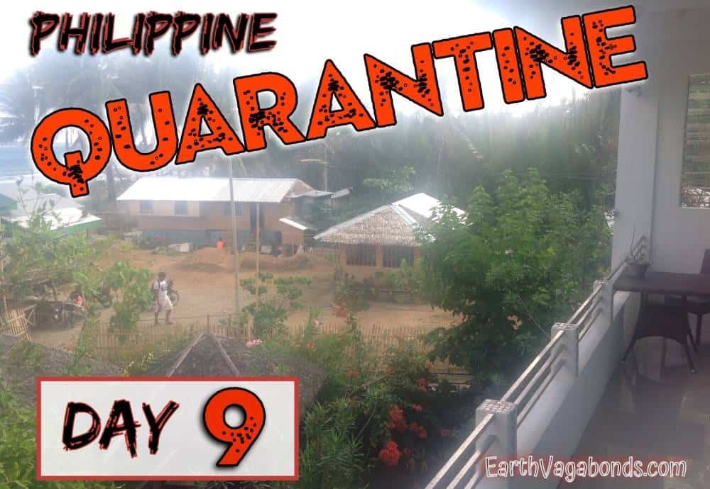 philippine quarantine day 9