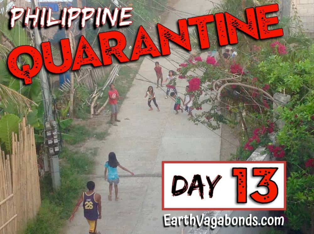 Philippine Quarantine Day 13: Coping