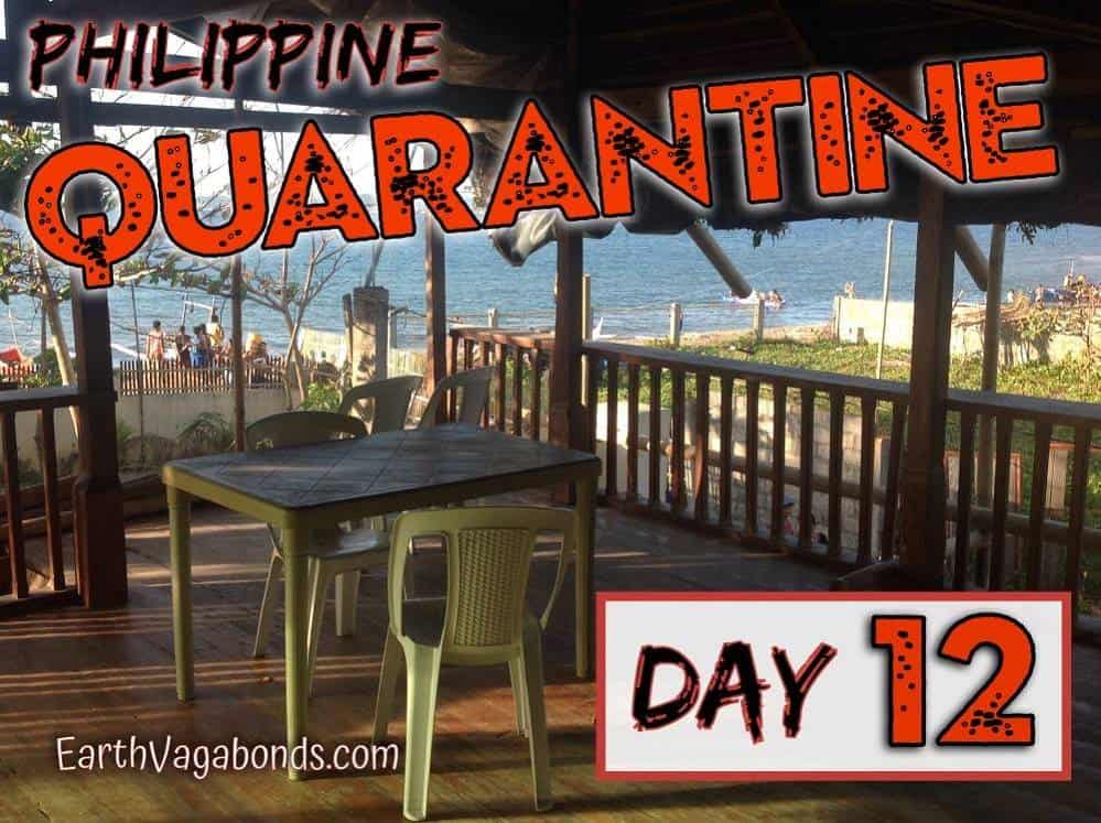 Philippine Quarantine Day 12: Virus news