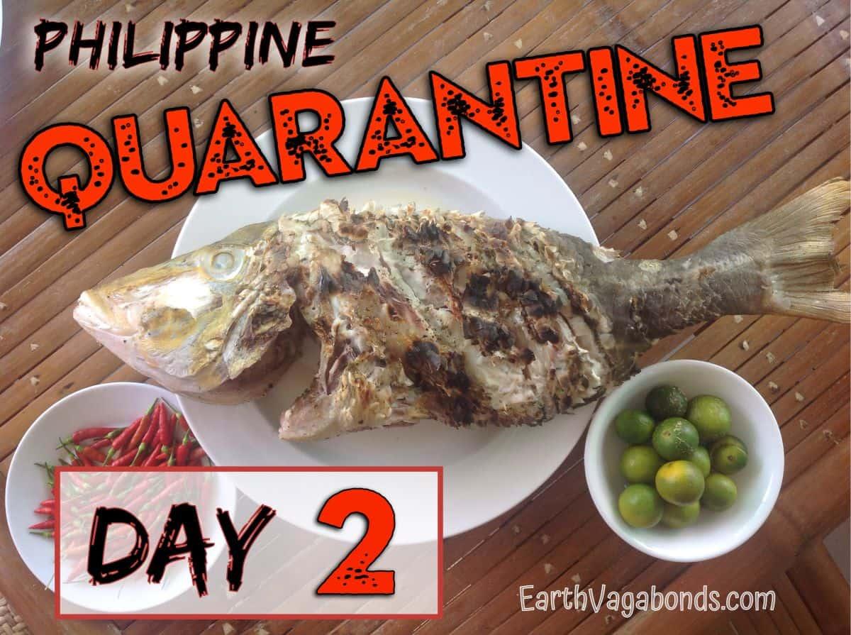 philippine quarantine day 2