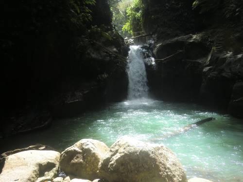 Tottyn Falls in Valencia, Negros Oriental.
